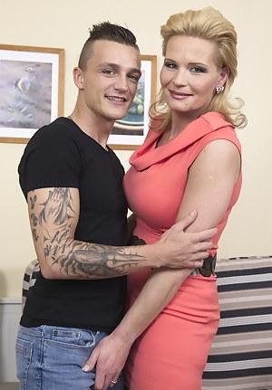 MILF and Boy Porn Pics @ Hot Busty Milfs